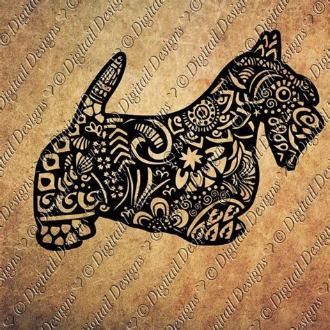 scottish terrier tattoo design 18 best scottie images on scottish