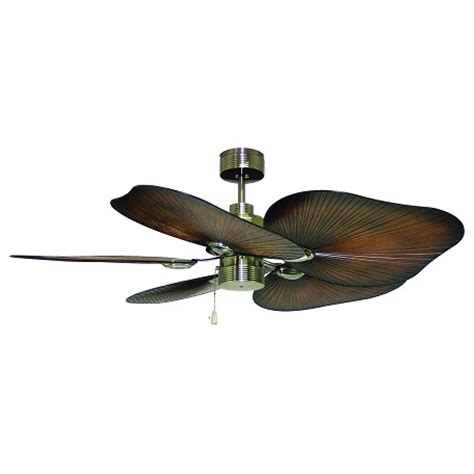 Caribbean Ceiling Fan by Craftmade Caribbean Brass Outdoor 52in 5 Blade Indoor
