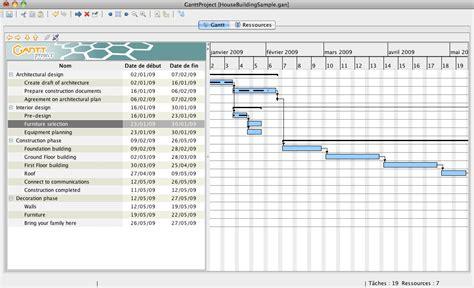 exemple diagramme de gantt site web planifier temps organiser ses t 226 ches avec ganttproject