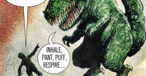 Meme Thesaurus - the saurus dinosaur thesaurus gasp inhale pant
