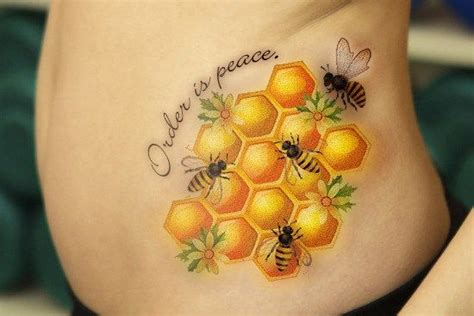 tattoo name honey 10 fascinating bee tattoo designs and their interesting