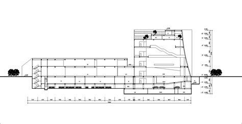 museum floor plan dwg museum design drawings cad drawings download cad blocks