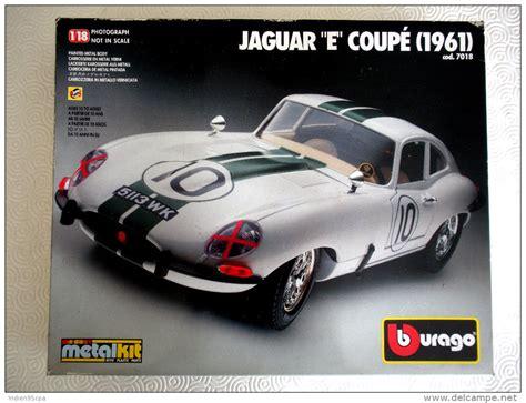 Tt1348 118 000 Premium Tops kit 224 assembler jaguar e coup 233 le mans 1961 burago 1