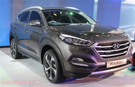 hyundai ndia tucson launch spotted testing time in india