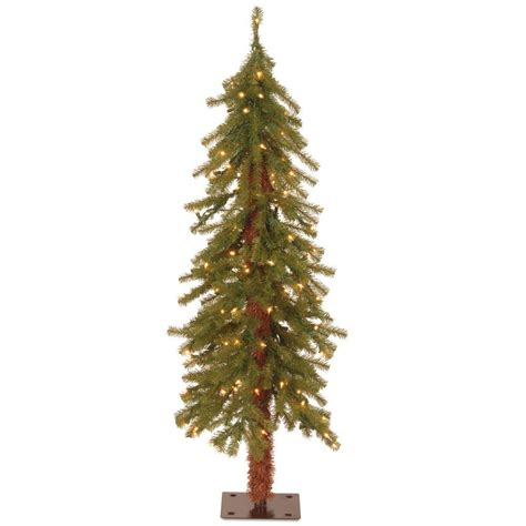 national tree company 4 ft hickory cedar artificial