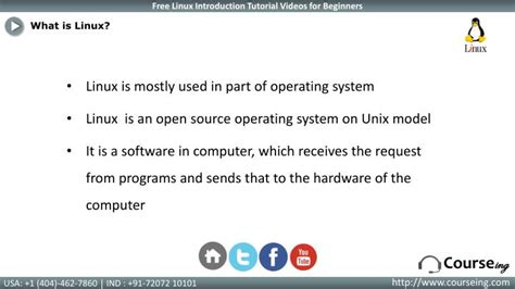 linux tutorial powerpoint ppt linux introduction training powerpoint presentation