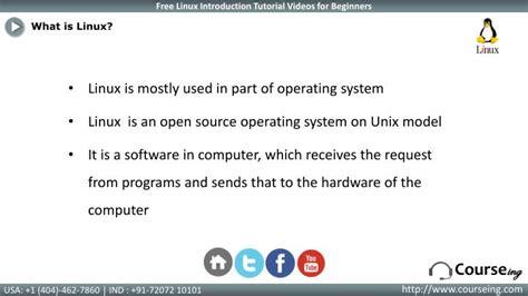 linux tutorial powerpoint presentation ppt linux introduction training powerpoint presentation