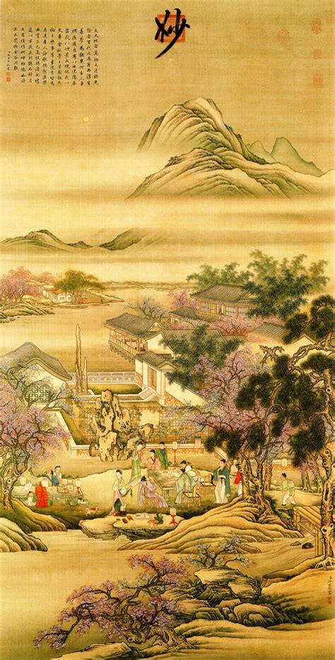 Shun Buah Plum By Shun Li skeda leng mei figures evening banquet jpg