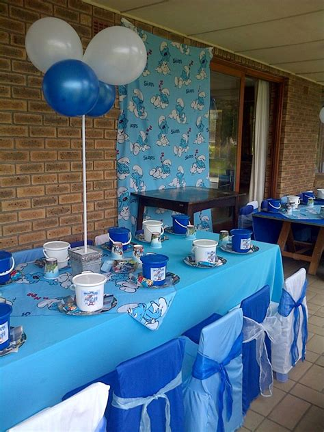 smurfs theme decorations 1000 images about smurf s on the smurfs