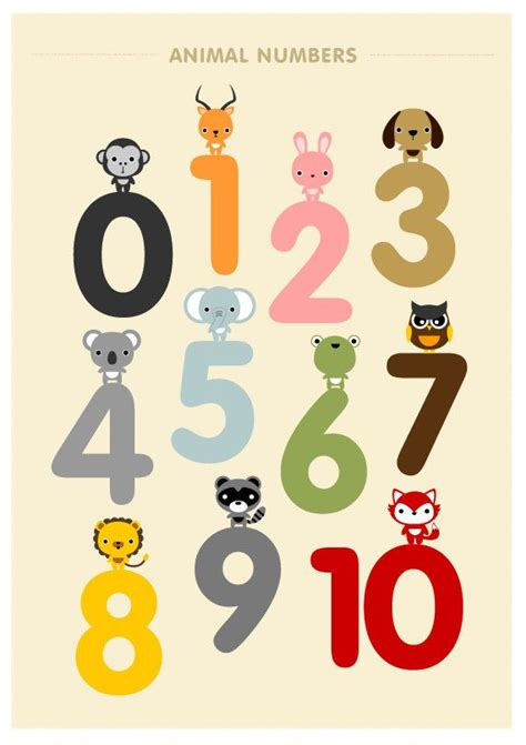 free printable animal numbers 1000 ideas about kid wall art on pinterest baby boy art