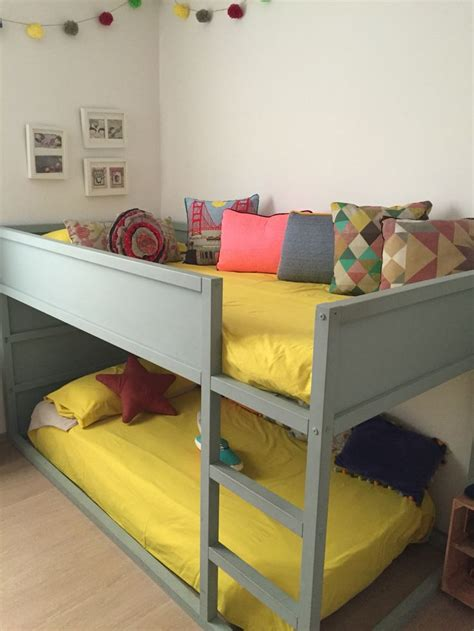 Ikea Bunk Beds Hack Ikea Hack Kura Bed Pinteres