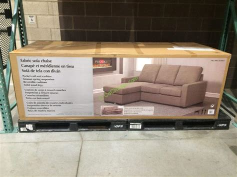 pulaski fabric sofa chaise costco 1075075 pulaski furniture fabric sofa chaise box