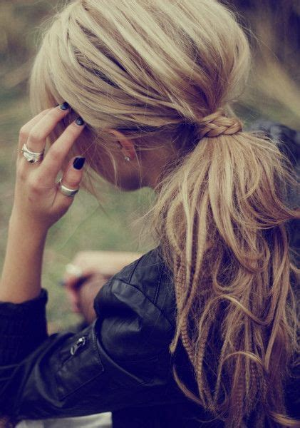 simple hairstyles with one elastic 25 best ideas about bubble ponytail on pinterest viking