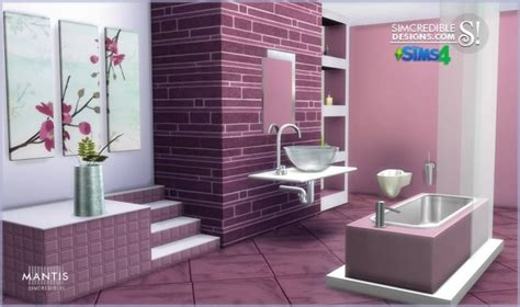 furniture by simcredible custom content simcredible designs 4 mantis bathroom 187 sims 4 updates