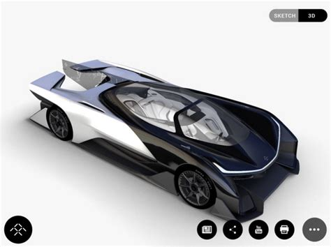 Future L by Faraday Future L Incredibile Concept Dell Auto Futuro