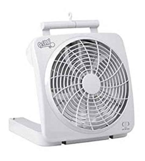 o2cool 10 inch battery operated fan 4 used from 26 44
