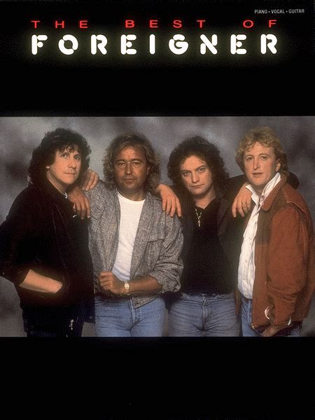 best of foreigner the best of foreigner sheet by foreigner sheet