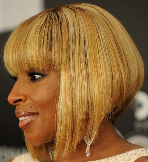 long bobs mary j blige mary j blige inverted bob classy bobs and inverted bob