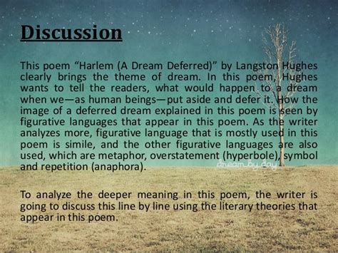 how are the themes of a dream deferred and a raisin in the sun similar images for gt langston hughes poems dreams