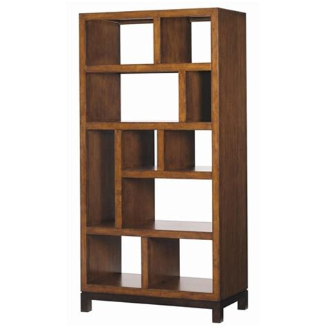 open back bookshelves club tradewinds open back bookcase etegere by bahama home