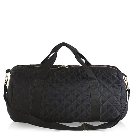 Quilted Duffle by Black Quilted Duffle Mixed Bag Designs