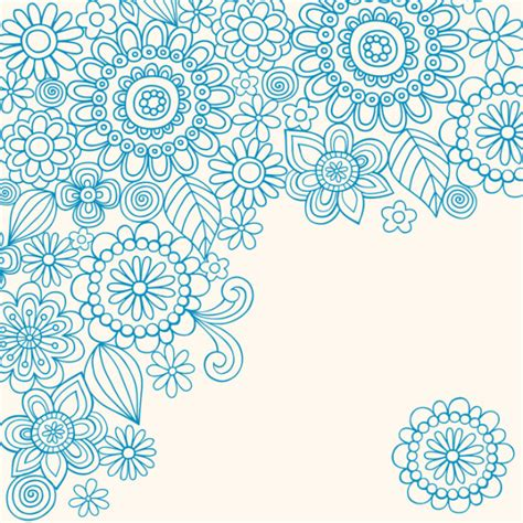 how to do a flowers doodle vector doodle by jess volinski mollykatemartin