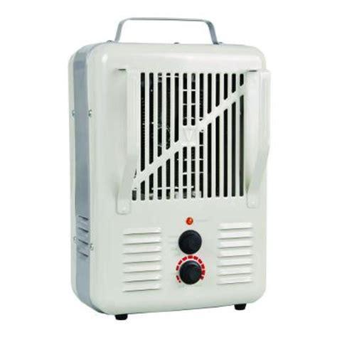 soleil 1500 watt forced air electric portable heater lh
