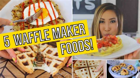 other usues for a waffle maker 5 ways to use a waffle maker omelets paninis quesadillas cookies hashbrowns