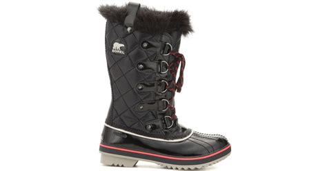 Sorel Tofino Cate Quilted Boot by Sorel Tofino Quilted Snow Boots In Black Lyst