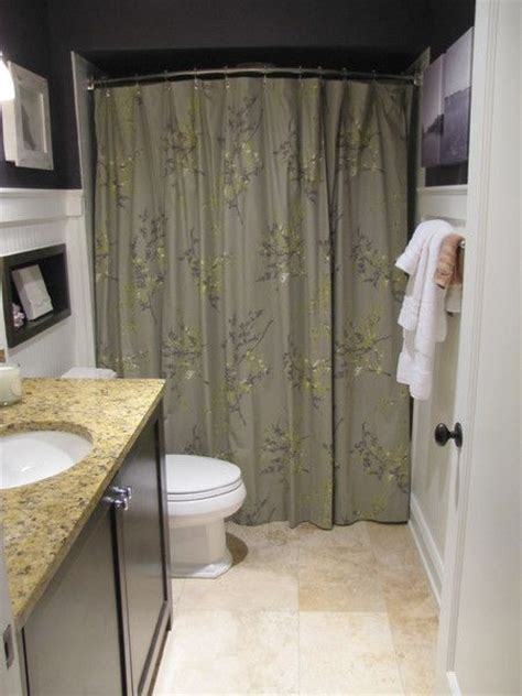 shower curtain ideas small bathroom 17 best images about curved shower curtain rods on