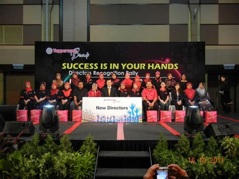 Pocket Pangkat director recognition rally tupperware brands malaysia
