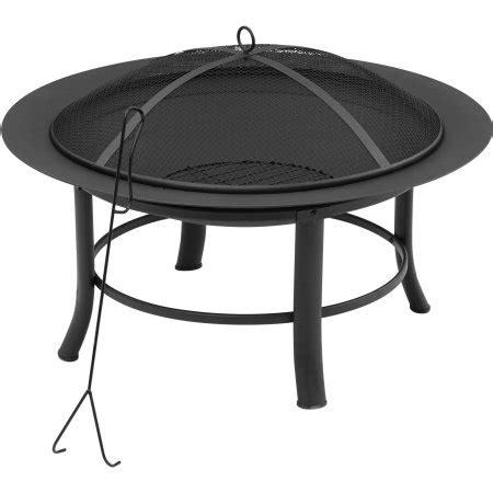 Patio Table Walmart Mainstays 28 Quot Fire Pit Walmart Com