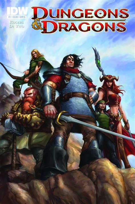 dungeons and dragons comic by dungeons and dragons 1a comic book 3 99 comic megastore corp our comic store