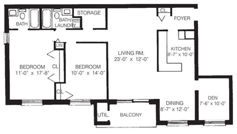 2 bedroom with den floor plans la maison apartments