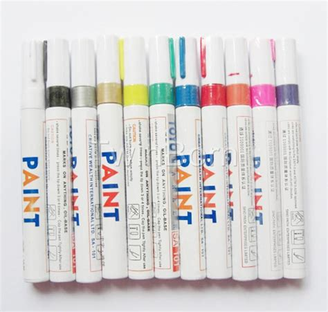 car motorcycle truck tire thread touch up marker paint pens 11 colors available ebay