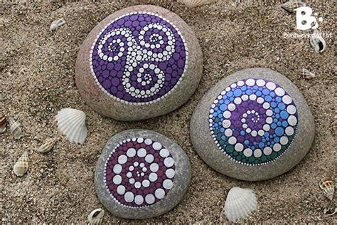 watercolor mandala tutorial diy mandala stones tutorial by colorful crafts com