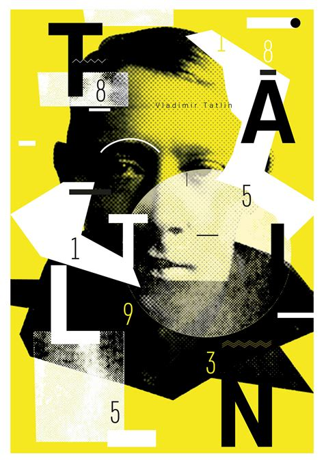 poster layout behance posters quot 130 tatlin quot on inspirationde
