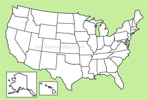 usa in world outline map carte des usa etats unis cartes du relief villes