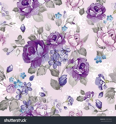 hd purple shadow florals seamless pattern background home ideas basement gray and blue floral wallpaper light