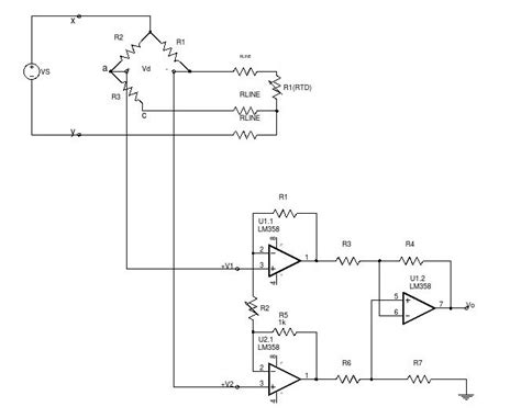 3 wire pt100 temperature sensor circuit diagram heat