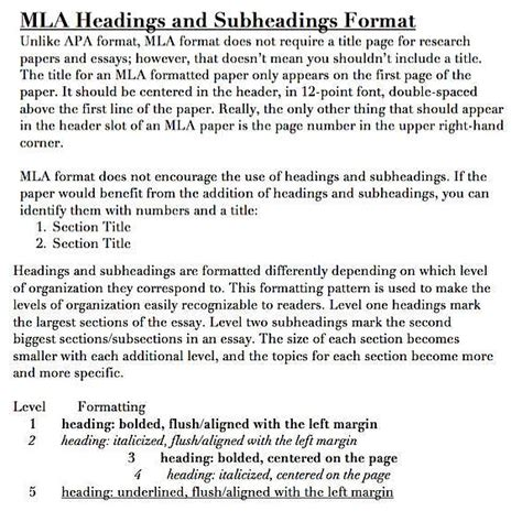 research paper mla subheadings dental vantage dinh vo dds