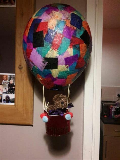 How To Make Paper Mache Balloon - paper mache air balloon x air balloon project