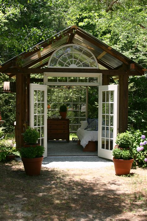 How To Make A Garden House by Garden House Erica Glasener