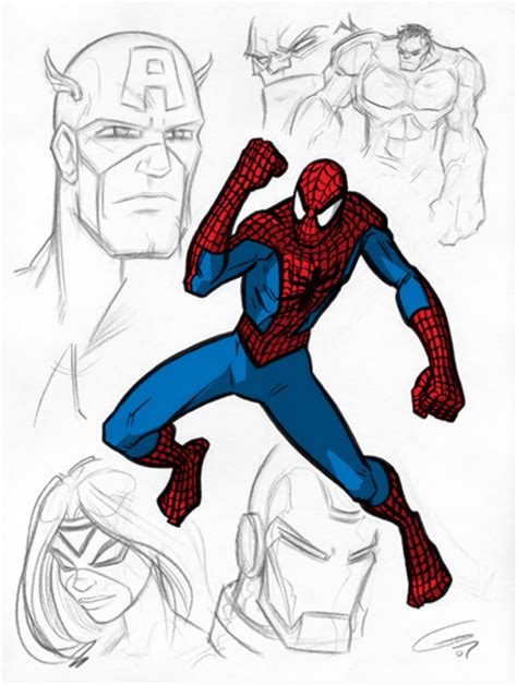 sketchbook marvel marvel character sketches 2 by grantgoboom on deviantart