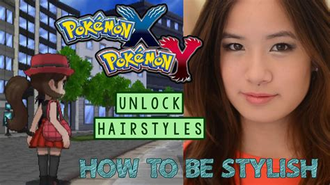unlocking more hair cuts pok mon x y forum how to be stylish unlock new hairstyles pokemon xy