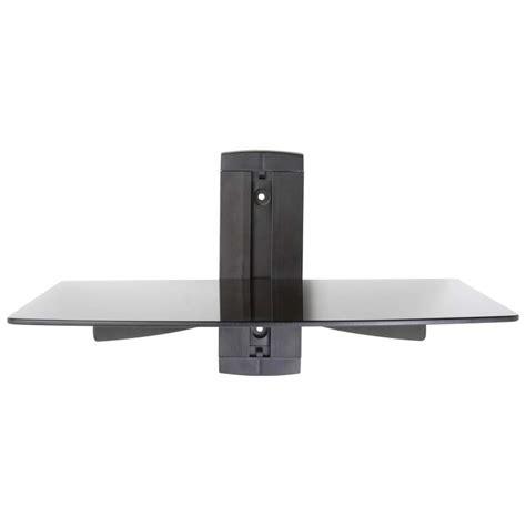 dvd wall mount shelf
