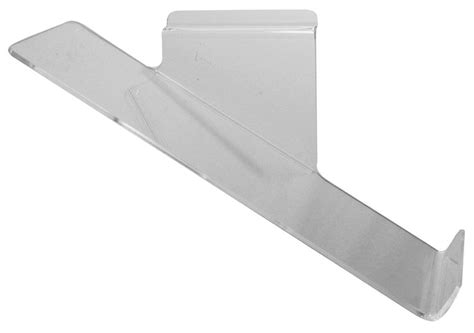 Perspex Shelf by Sloping Perspex Shelf For Slatwall Free Delivery On All