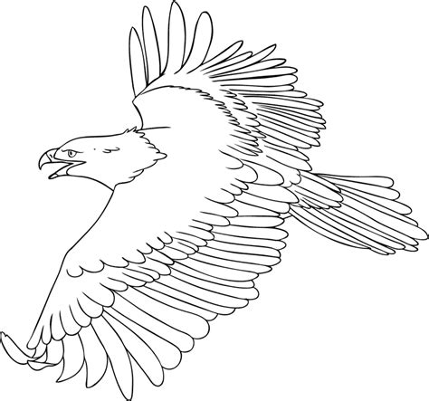free coloring pages of eagles football