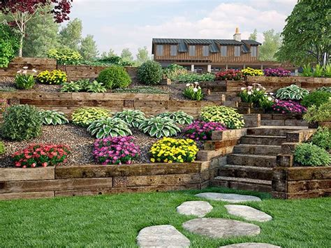 Railroad Tie Landscaping Ideas 17 Best Ideas About Railroad Ties Landscaping On Pinterest Railroad Ties Railway Sleepers