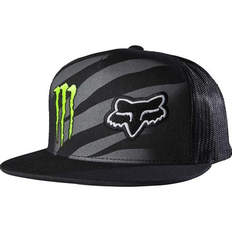 fox motocross hats fox racing energy zebra snapback hat black